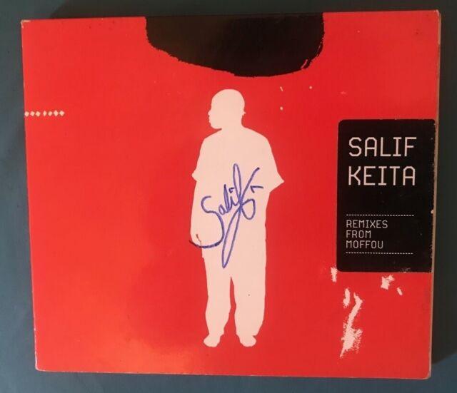 SALIF KEITA 'REMIXES  FROM MOFFOU' CD - AUTOGRAPHED
