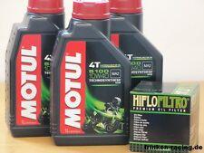 Motul Öl 5100 10W40 teilsyn / Ölfilter HM Moto 490 CRE-F CRM-F X 4T alle 07 - 08