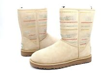 11303bdbc3447a where to buy item 2 ugg classic short serape bling boots sand sheepskin  suede size 8