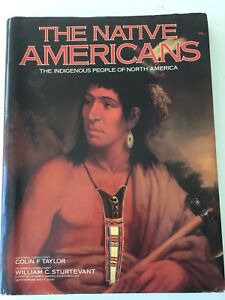 The-Native-Americans-The-Indigenous-People-of-North-America-Hardcover-Book-NEW