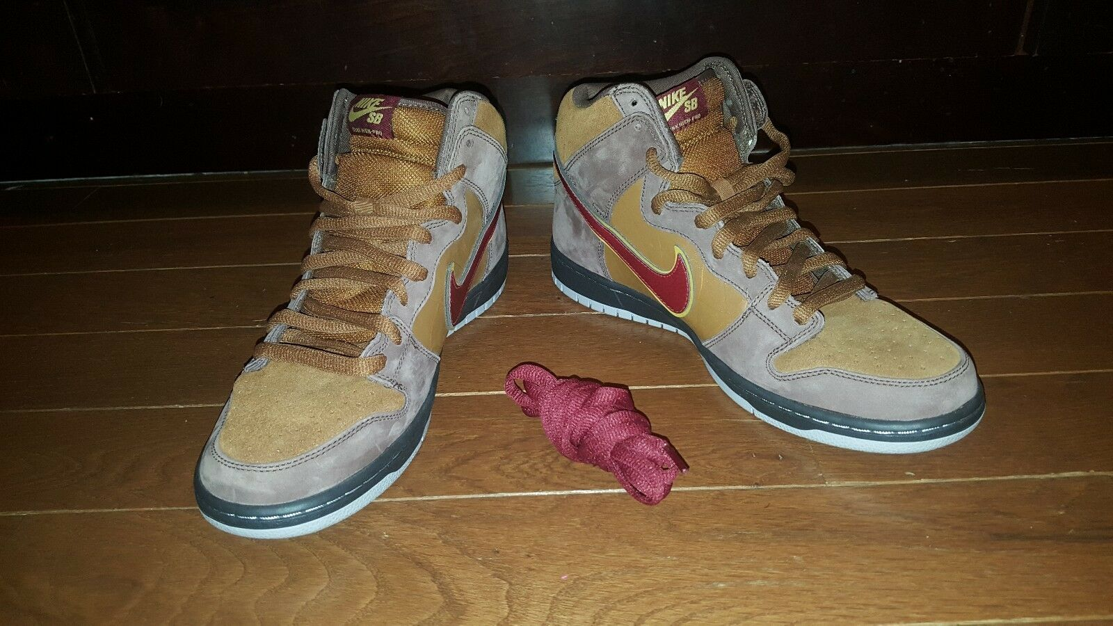 Nike Dunk High Premium SB Cigar City RARE Deadstock size 10 BRAND NEW 313171 262
