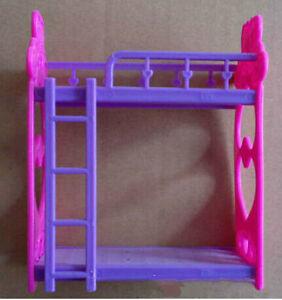 1set letti Barbie con mobili camera da letto della scala | eBay