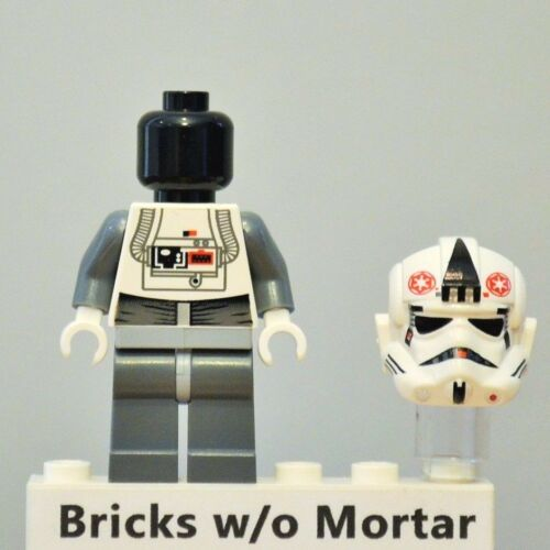 New Genuine LEGO AT-AT Driver Hoth Minifig Star Wars 8129 8084