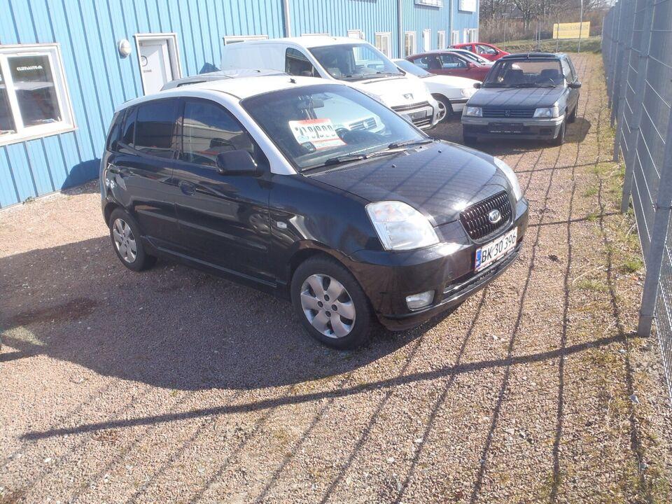 Kia Picanto 1,1 EX Benzin modelår 2004 km 223000 nysynet ABS
