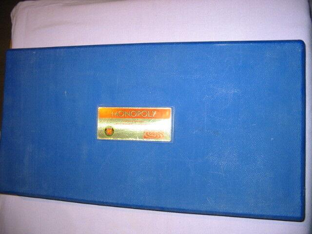 Brettspiel  Monopoly Sonderausgabe - blauer Koffer sehr gut erhalten sehr selten