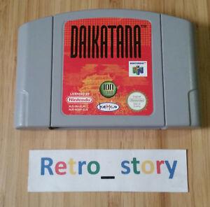Nintendo 64 N64 Daikatana PAL