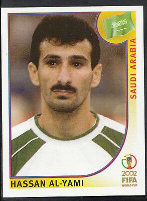 Panini Fútbol-Copa del Mundo 2002-Pegatina no 346-Arabia Saudí-al-Yami