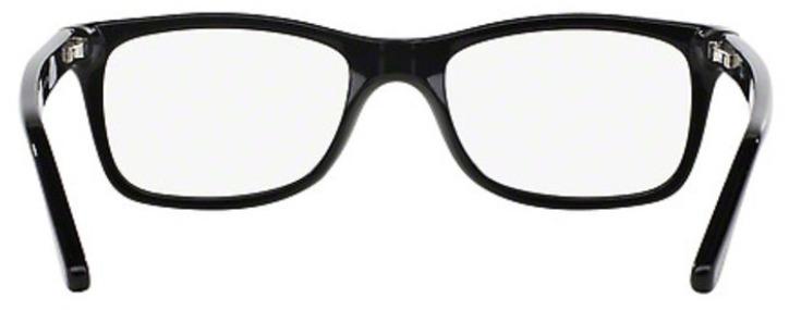 Ray-Ban Damen Herren Brillenfassung RX5228 2000 53mm schwarz rechteckig