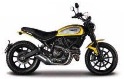 OVP Ducati Scrambler Maisto Motorrad Modell 1:18 Neu