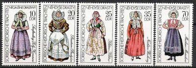 Postfrisch Billiger Preis Ddr Nr.2210/14 ** Sorbische Trachten 1977 Briefmarken