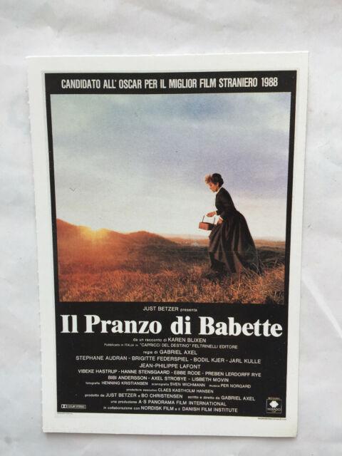 Collezione Cinema Ciak Mini Locandina Film Il pranzo di Babette