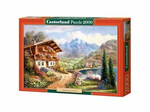 "Castorland Puzzle 2000 Pieces - High Country Retreat 36""x27"" Sealed box C-200511"