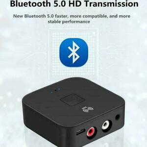 NFC-Bluetooth-5-0-Empfaenger-3-5mm-AUX-Cinch-Buchse-Adapter-Wireless-Hifi-I2M9