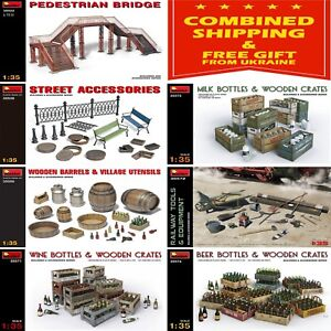 ACCESSORIES-FOR-DIORAMS-MINIART-1-35-PLASTIC-MODEL-BUILDING-ACCESSORIES-SET-2