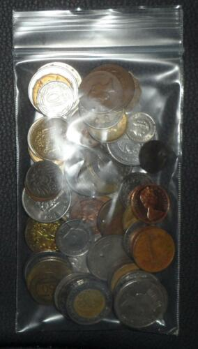 1//2 Pound Collection of World Coins Huge Variety Read Half a Pound