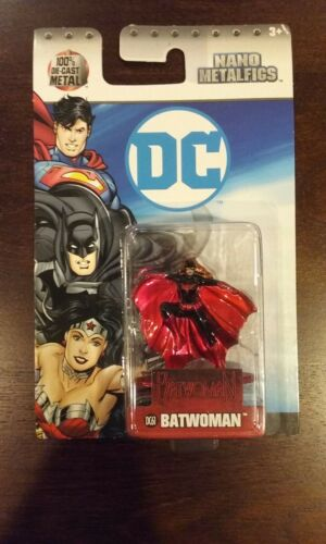 Nano Metalfigs DC   ** BATWOMAN  DC61 **   WAVE 4  NEW   Jada Die-Cast