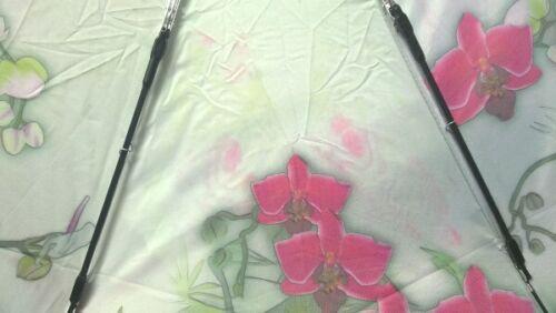 Von Lilienfeld geblümter Regenschirm Damenschirm orchidee  Auf-Automatik II.Wahl