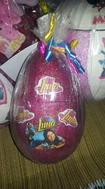 Soy Luna XXL Überraschungsei 30 cm gefüllt, Geschenk Kinder