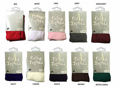Cotton Rich Soft Girls Baby nifty Tights Newborn-2-3 Assorted Colours