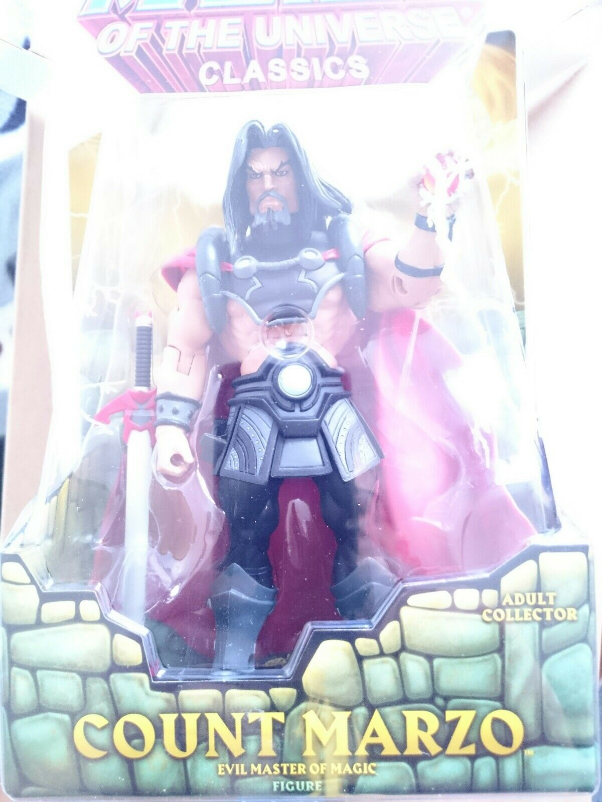 Mattel Amos del universo He-Man Masters Of The Universe Classics Count Marzo En Caja Sellada