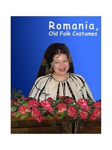 BOOK Romania Romanian Folk Costumes 48 color plates 100 pict. blouse embroidered