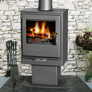 Image Is Loading Leo 5kw Wood Burning Multi Fuel Burner