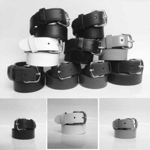 """40MM Real Leather Belt Handmade In England Sizes 28/""""-44/"""" Mens Womens 1.5/"""""""