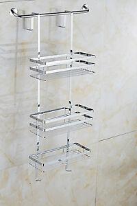 shower caddy shelves tidy storage hanging bathroom over. Black Bedroom Furniture Sets. Home Design Ideas