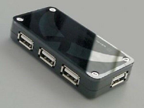 4 Port USB 2.0 HUB Switch Splitter For PS3 Controllers
