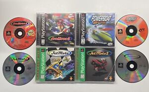 PS1 JET MOTO Trilogy 1, 2 & 3 + Powerboat Racing PlayStation 1