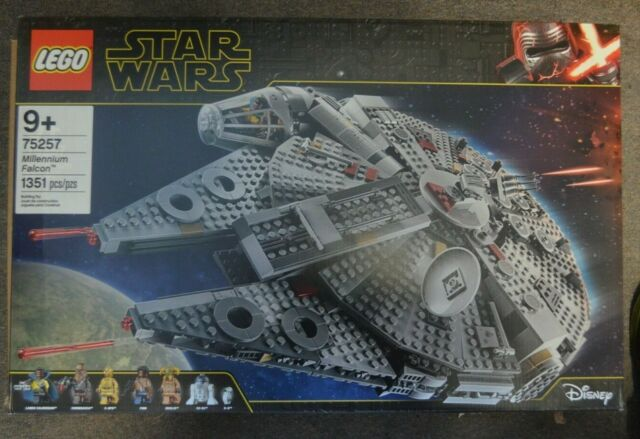 Lego 6287454 Star Wars Rise Of Skywalker Millennium Falcon Kit With Minifigures For Sale Online Ebay