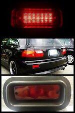 Honda Integra Acura Rear Bumper Fog Light Brake Lamp LED RED DC2 EG6 EK9 EF9 EJ1