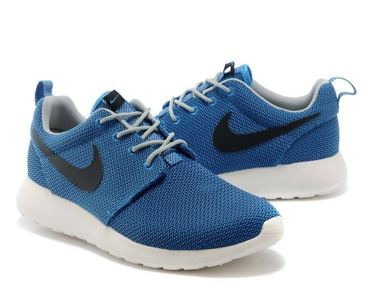 NIKE Rosherun US:8 Neu Free Presto Gr.41 Blau Sneaker Textil Sommer 90 PHOTOBlue