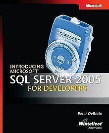 Introducing Microsoft SQL Server 2005 for Developer...   Buch   Zustand sehr gut