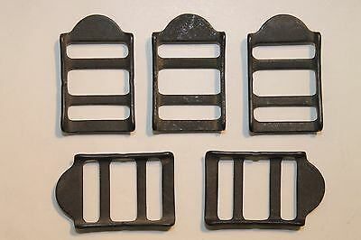 """5 1//8 in Steel Plate Powder Coated Webbing Attachment 3x6/"""" Military Surplus"""