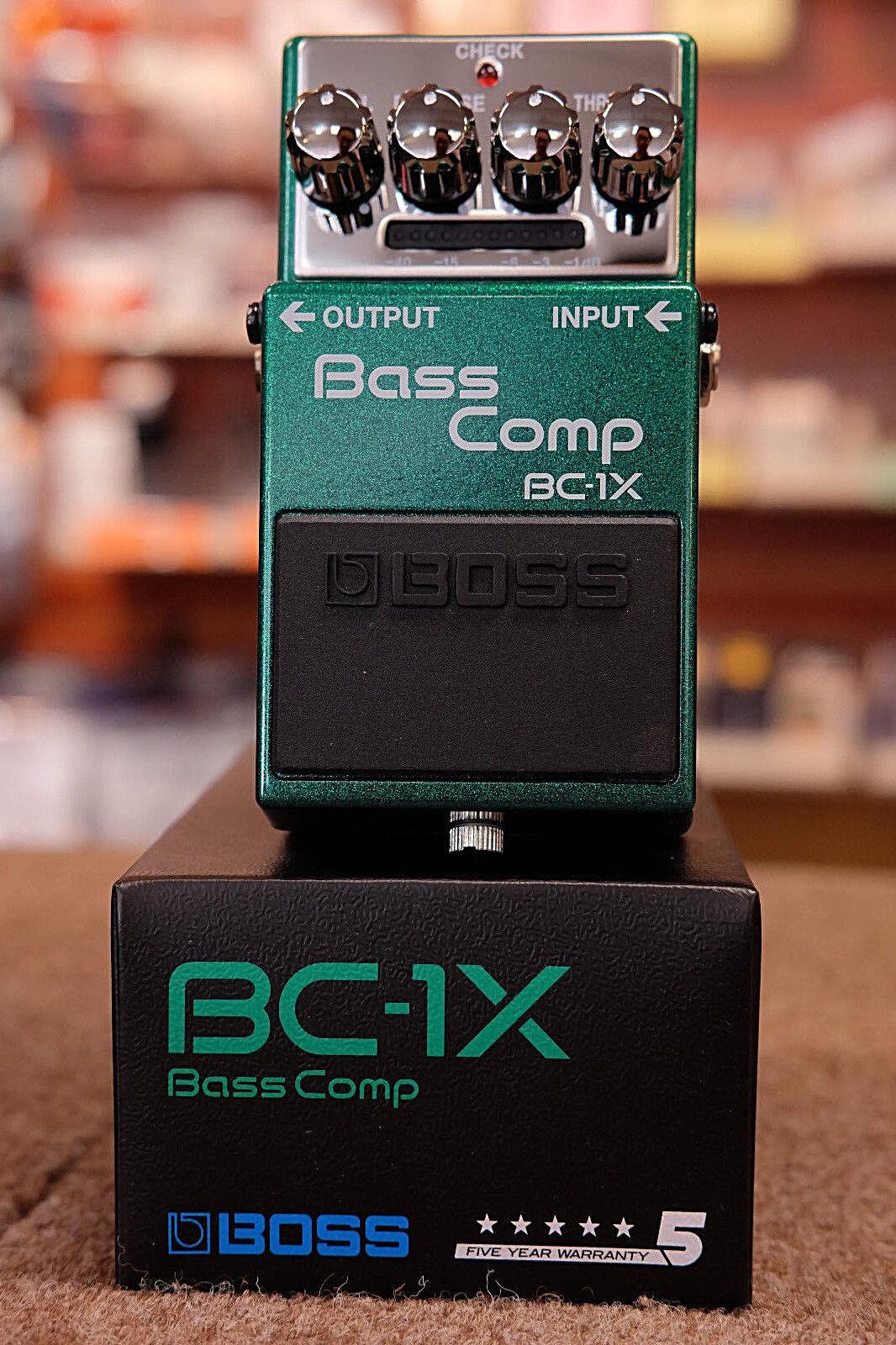 Boss BC-1X Bass Comp Compression Bass Guitar Effect Pedal- NEW Free Ship
