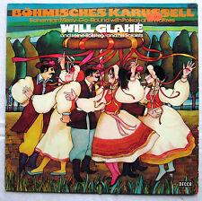 """12"""" Vinyl LP BÖHMISCHES KARUSSELL - Will Glahe und seine Solisten"""