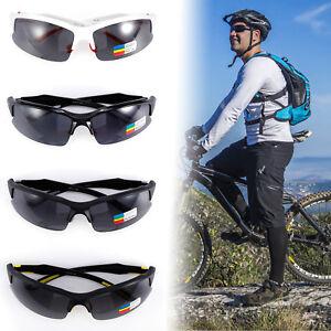 gran selección de 392af d9ec0 Detalles de Gafas de sol deportivas polarizado lentes para Ciclismo Correr  Para Hombre Mujer