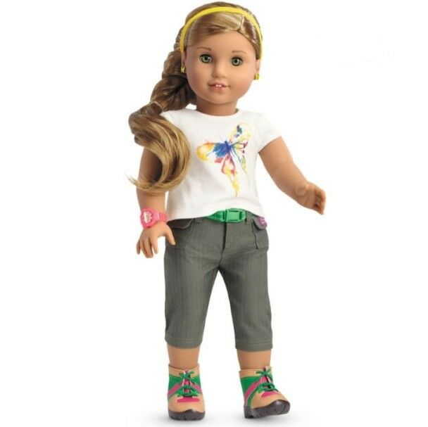 American Girl Doll Lea's RAINFOREST HIKING Outfit & & & ACCESSORIES Set ONLY 1   f0e5f8