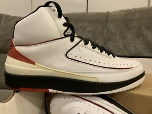 e74eb81a813d NEW  2004 Air Jordan 2 Retro sz 11 Chicago White Varsity Red Black ...