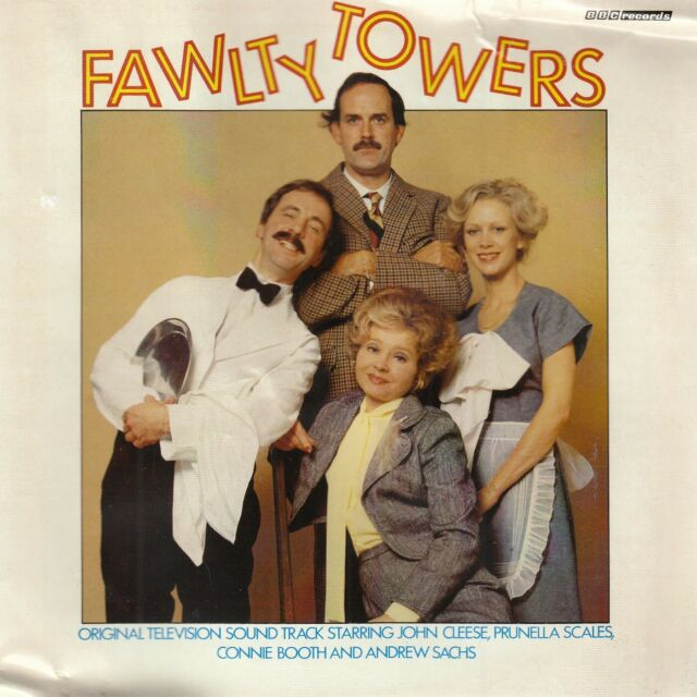 Fawlty Towers CD Audio BBC Comedy Hotel Inspectors Mrs Richards FASTPOST