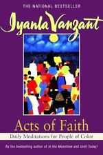 Acts of Faith: Daily Meditations for People of Color by Iyanla Vanzant (1993,...