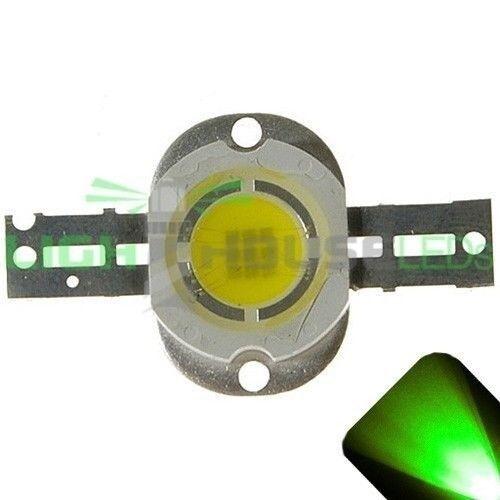 2 x LED 10 Watt Pure Green Spot Flood Light Ultra High Power 10w 10watt LEDs w