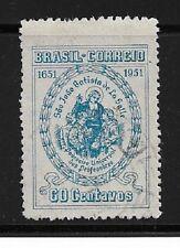 Brazil Stamps- Scott # 705/A272-60c-Canc/LH-1951-NG