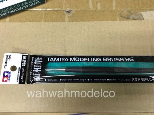 New Tamiya #87153 Modeling Brush Ultra Fine Pointed Brush HG
