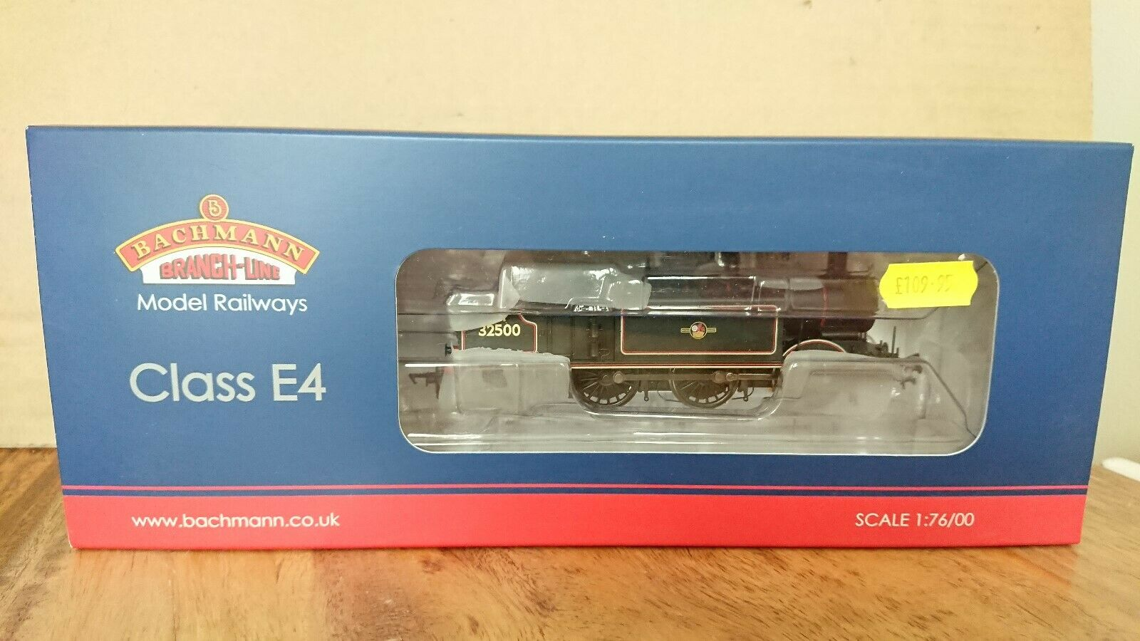 Bachmann 35-078 Class E4 32500 BR Lined nero Late Crest 6DCC NEW