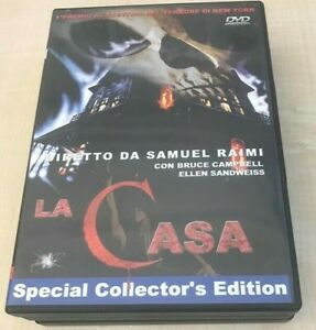 La Casa - The Evil Dead - Sam Raimi, Special Collector's edition DVD come nuovo