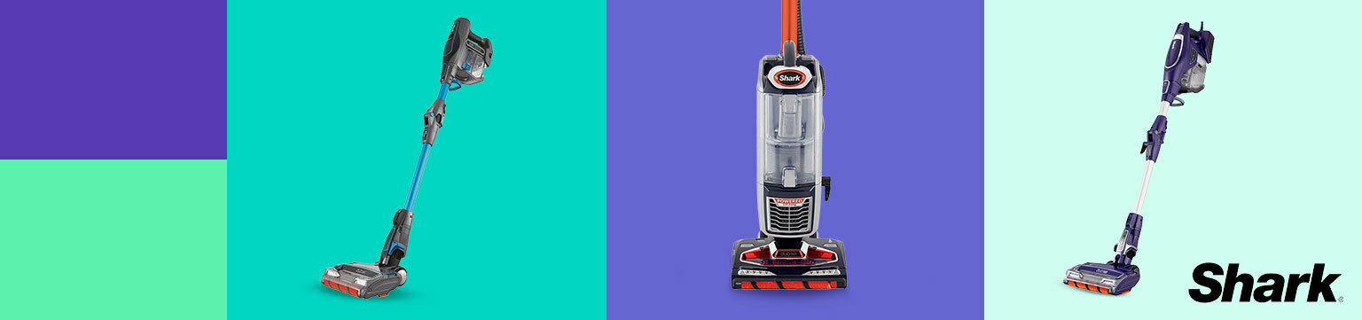 Save up to 50% on Shark Vacuum Cleaners