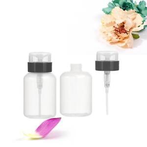 Kunststoff-gepresste-Pumpe-Flasche-Nagellackentferner-Spender-Nachfuell-Bar-S9T8