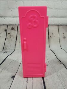 Vintage-1991-Mattel-Arco-Barbie-Pink-Gym-Locker